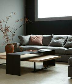 houten bank modern landelijk landelijk wonen modern interieur moderne meubels