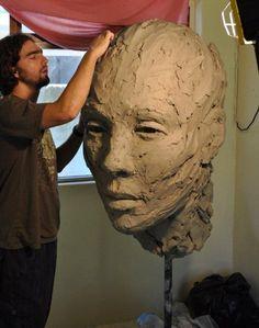 sculptures in progress - Lionel Smit