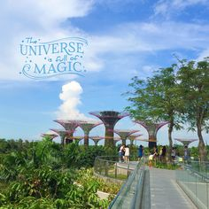 The universe is full of magic. #Singapore #travel
