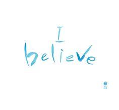 calligraphy_I believe