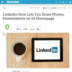 http://mashable.com/2013/05/30/linkedin-photos-homepage/ ... | #Indiegogo #fundraising http://igg.me/at/tn5/