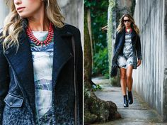 Street Style: mix de estampas