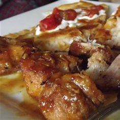 Spicy Honey-Mustard Glazed Pork Ribs Allrecipes.com
