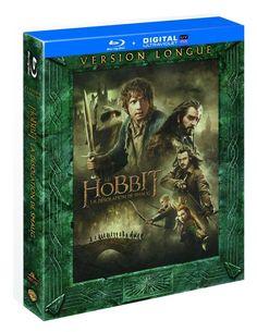 Le Hobbit : La désolation de Smaug Version longue  BLU-RAY - NEUF
