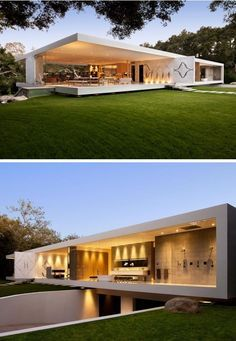 California Modern House Plans Beautiful the Glass Pavilion An Ultramodern House by Steve Hermann Tiny House Plans, Modern House Plans, Modern House Design, Modern Courtyard, Courtyard House Plans, Minimalist Architecture, Contemporary Architecture, Glass Pavilion, Dream House Exterior