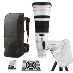 Canon EF 600mm f/4L IS II USM Lens, USA with Pro Accessory Bundle