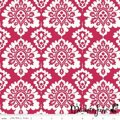 New!! Red Damask Lost & Found Love Laminated Cotton – Modern June, the Oilcloth Addict!
