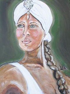 Beloved Art Gallery... Song of Solomon...  Dark but Lovely