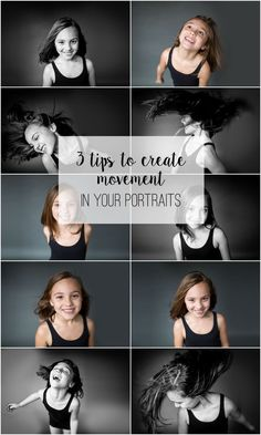 Photography Tips | 3 ways to Create Movement in Your Portraits