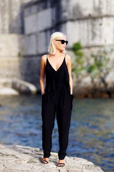 Jumpsuits are an easy and modern style update for any season. We love the simplicity of this one!