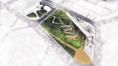 12 Projects Win Regional Holcim Awards 2014 for Africa Middle East,GOLD: Eco-Techno Park: Green building showcase and enterprise hub. Image Courtesy of Holcim Foundation Cultural Architecture, Sustainable Architecture, Sustainable Design, Landscape Architecture, Landscape Design, Green Architecture, Building Architecture, Landscape Drawings, Architecture Drawings