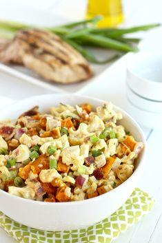 Cauliflower Sweet Potato Salad