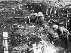 Militärspielzeug   Schlachtfeld im Ersten Weltkrieg (Foto: dpa)