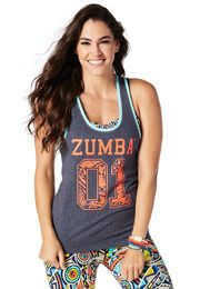 Team Zumba Tank | Zumba Wear 10% off with promo code 10SALE on www.zumba.com