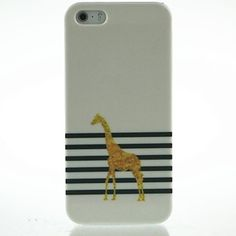 Golden Fawn Pattern Hard Case for iPhone 5/5S – EUR € 1.88