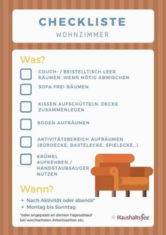 Plane die routinen im wohnzimmer mit dieser checkliste haushaltsfee dawn dish soap household and cleaning tips tricks and hacks cleaningtips householdtips cleaninghacks householdhacks Cleaning Companies, Cleaning Checklist, House Cleaning Tips, Cleaning Hacks, Tips And Tricks, Antibacterial Soap, Savings Planner, Diy Crafts To Do, Green Cleaning