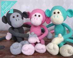 Mike le singe Amigurumi Crochet Pattern fr et NL DK par Sugaridoo