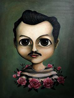 Pedro Muy Infante, 2017 Óleo sobre tela, 80x60cm   #PedroInfante
