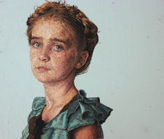 Thread Paintings: Densely Embroidered Portraits by Cayce Zavaglia  http://www.thisiscolossal.com/2014/11/thread-paintings-densely-embroidered-portraits-by-cayce-zavaglia/