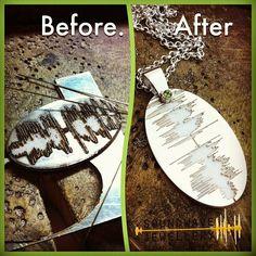 Soundwave Jewellery Custom Silver Pendant