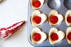 Jam heart tart recipe