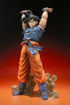Figures Anime / Manga : Dragon Ball Zero Statue Action Figure Son Goku Genkidama version Figuarts Zero PVC 15 cm ( Bandai )