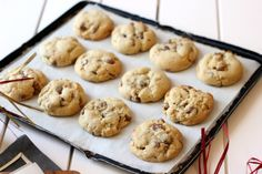 Cream Cheese Chocolate Chip Cookies - Butter