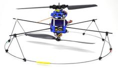 Helicopter with #3D printed part by Modlab (University of Pensylvania) student James Paulos