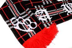 Motyw kibicowski na szaliku 'ACAB' ---> Streetwear shop: odzież uliczna, kibicowska i patriotyczna / Przepnij Pina!