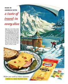 1961 Kraft Cheese ad Sorry but i don't know i could post this ad ;-)