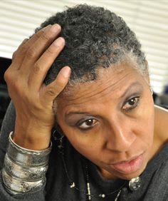 gray haired black women | Color Tips for Naturalistas & Transitioners with Silver Tresses, Part ...