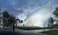 'Like a mountain of ice cubes' … the Serpentine pavilion 2016 designed by Bjarke Ingels Group (BIG).