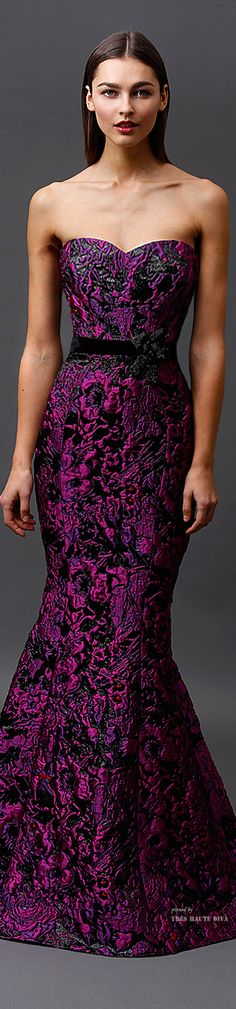 Badgley Mischka Pre-Fall 2015 RTW ♔THD♔