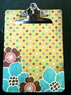 Create a Custom Scrapbook Clipboard in 5 Easy Steps!