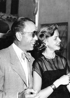Lauren Bacall and Humphrey Bogart, 1950