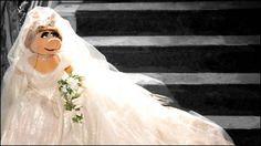 Miss Piggy's Wedding Dress Designed by Vivienne Westwood