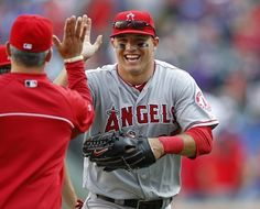 Mike Trout mvp | Mike Trout Hits For Cycle As Los Angeles Angels Defeat Seattle ...