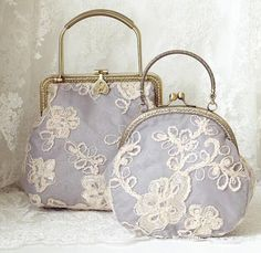 The exquisite three-dimensional Eugen yarn bag Metal by hitomigift