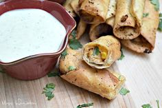 BBQ Chicken Taquitos via @msinfoblog