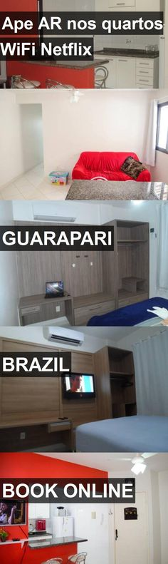 Hotel Ape AR nos quartos WiFi Netflix in Guarapari, Brazil. For more information, photos, reviews and best prices please follow the link. #Brazil #Guarapari #ApeARnosquartosWiFiNetflix #hotel #travel #vacation