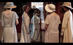 Anybody Can Do Anything Especially Lillian: Downton Abbey A Dream is a Wish Your Heart Makes Downton Abbey Season 3, Downton Abbey Fashion, Good Luck Today, Maggie Smith, 20th Century Fashion, I Got Married, Mothers Love, Wedding Dresses, Lady