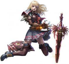 Pyrrha Omega- Soul Calibur V