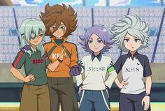 ::Inazuma Eleven Ares no Tenbin-FF Stadium:: by zafiro-satoshi Shiro, Nathan Swift, Inazuma Eleven Strikers, One Piece Ace, Inazuma Eleven Go, Epic Art, Best Series, Cool Drawings, Anime Guys