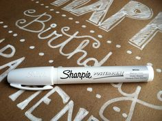 Write on your wrapping paper. No card needed! | Something to be Found. Nx