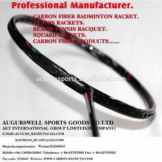 6.5mm-shaft-woven (OEM/ODM 100%carbon firbe badminton rakcets/racquets ) manufacturer of badminton carbon fiber rackets/racquets