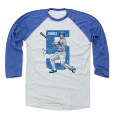 Corey Seager Alpha B Los Angeles D Officially Licensed MLBPA Baseball T-Shirt Unisex S-3XL