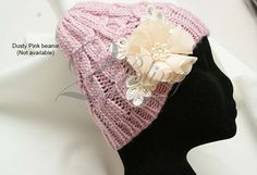 Knitted beanie.  http://www.2bling.com.au/supporting-diy-projects/beanies-neck-warmers/knitted-woollen-beanie-one-size