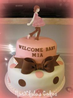 Baby Shower Ideas On Pinterest | Baby Shower Cakes, Baby Shower .