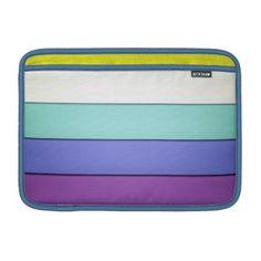 Pastel Stripes Sleeve For MacBook Air