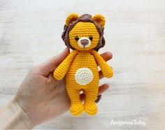 Download Cuddle Me Lion Amigurumi Pattern (FREE)